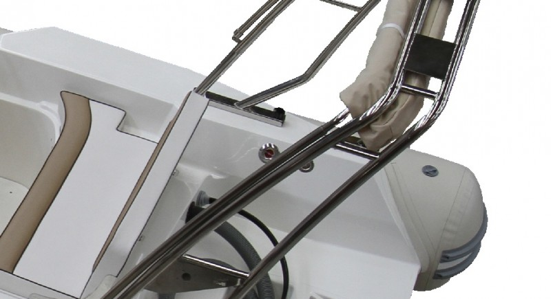 Рамка за инструменти (roll bar) инокс с тента