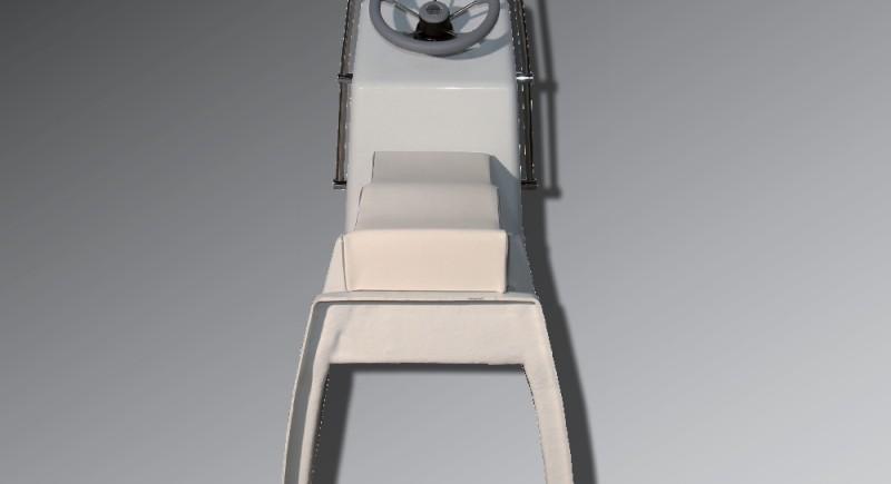 Конзола LOMAC RESQUE с двуместна пилотска седалка