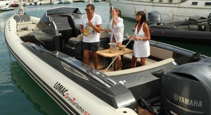 Моторна лодка LOMAC GranTurismo 10.5